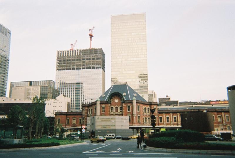 改修工事前の東京駅