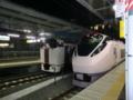 [電車]品川駅 快速アクティと特急ひたち