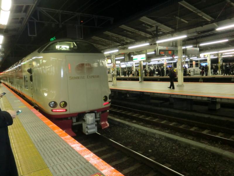 横浜駅 サンライズ出雲