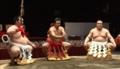 横綱千代の富士 還暦土俵入り 太刀持ち白鵬、露払い日馬富士