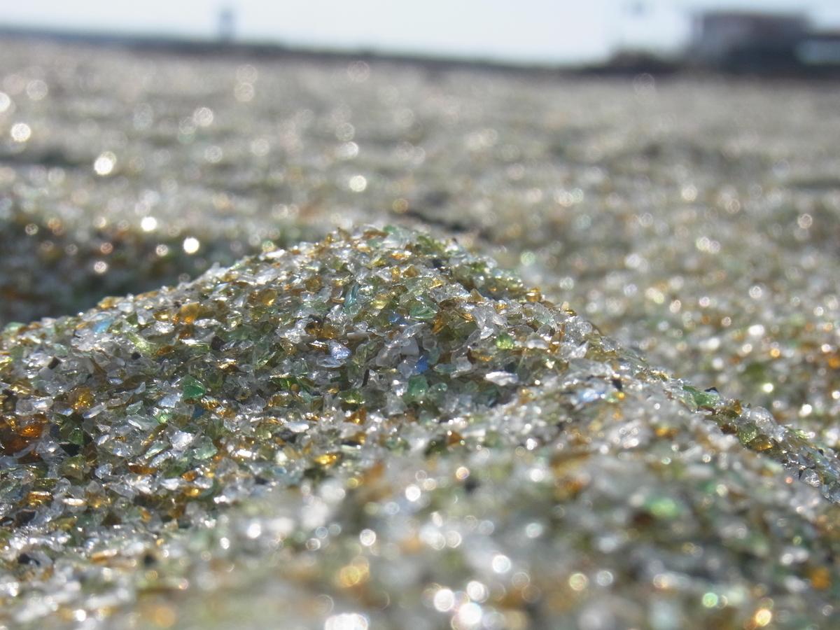 大村 ガラス の 砂浜