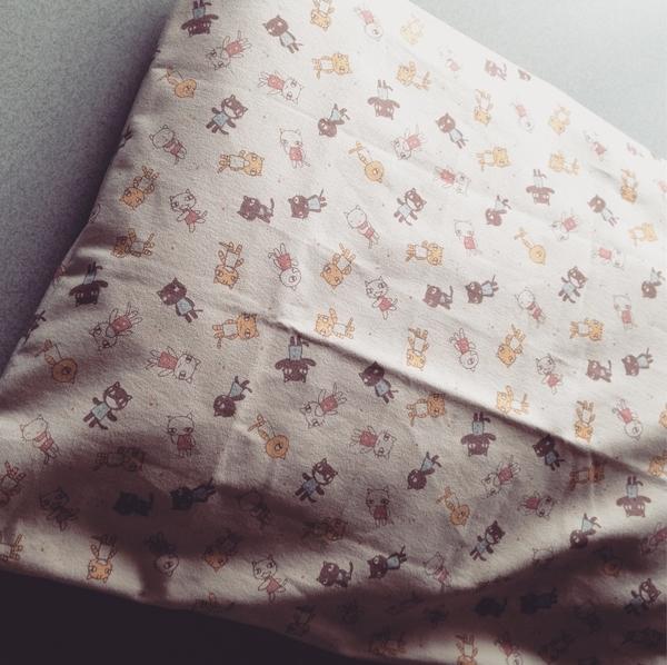 [2017][手芸][裁縫][枕カバー][アランジアロンゾ][#myhandmade]