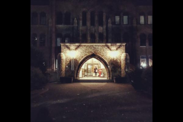 総合博物館の入り口
