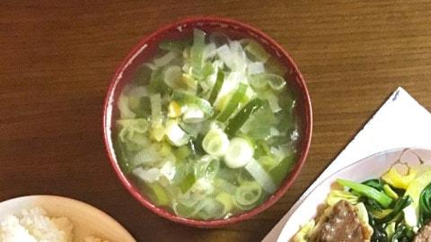 ネギ多すぎスープ