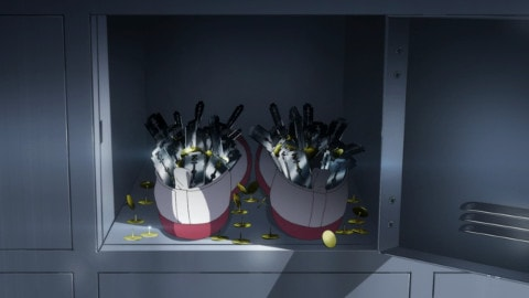 朝霧さんの靴箱