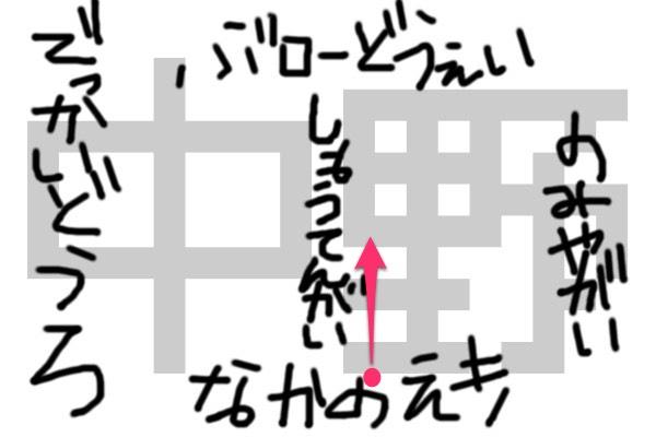 中野地図①