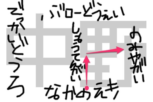 中野地図②