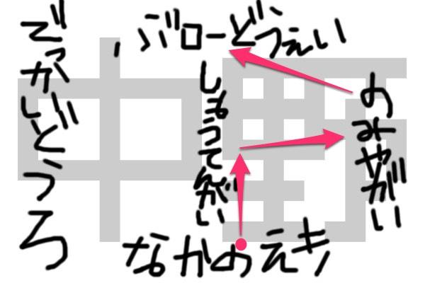 中野地図③