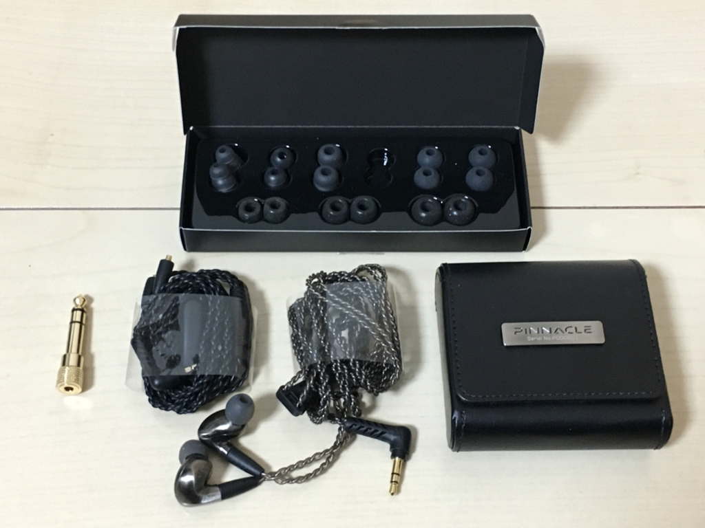 Pinnacle P1 付属品