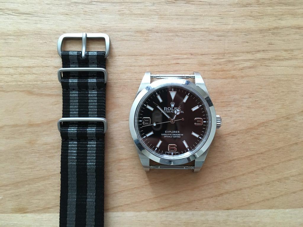 watch 46690 10bf1 ロレックスエクスプローラーをNATOベルトでひと夏を過ごして快適 ...