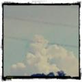 [twitter] Photo:はてなFotolifeへの投稿〜「今日の入道雲」