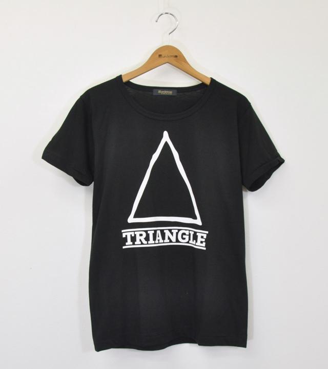 Triangle Illust Black