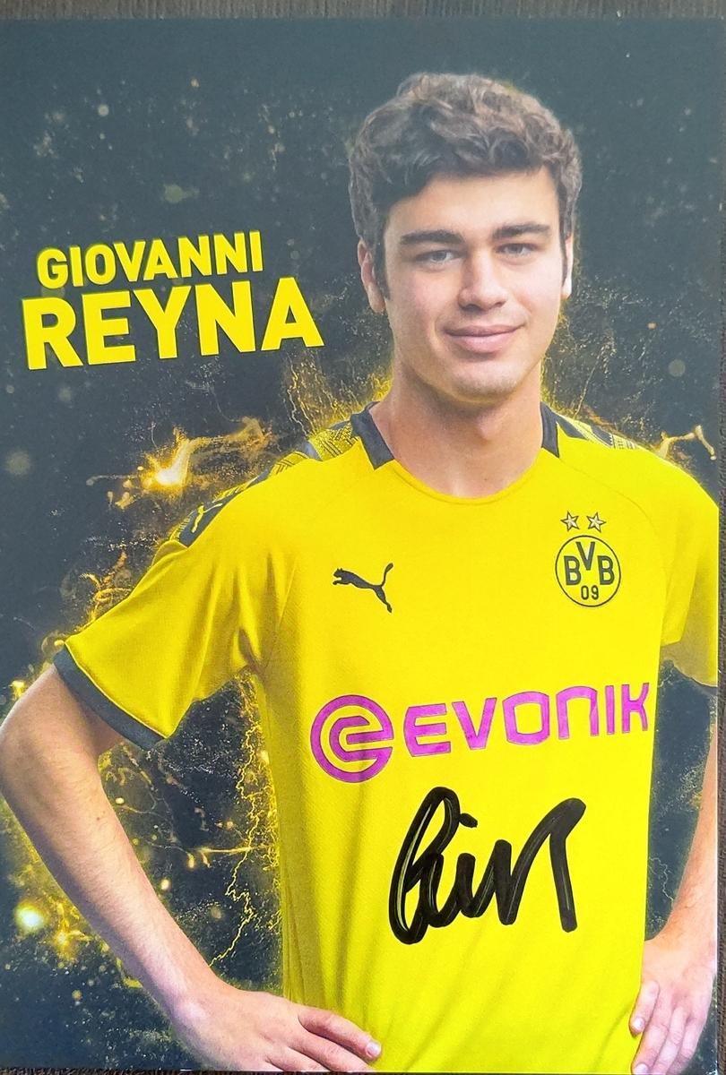 ジョヴァンニ レイナ ドルトムント オートグラフ19 ブンデスリーガ専門のサッカー馬鹿ブログ