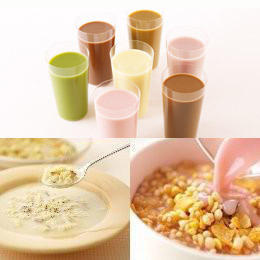 マイクロダイエット7種類のドリンクタイプと2種類のリゾットタイプ
