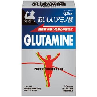グリコ おいしいアミノ酸 グルタミンスティックパウダー