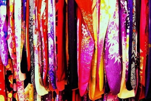 たくさんの着物