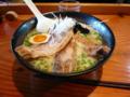 まる麺堂 燻し焼豚麺 【東伏見】