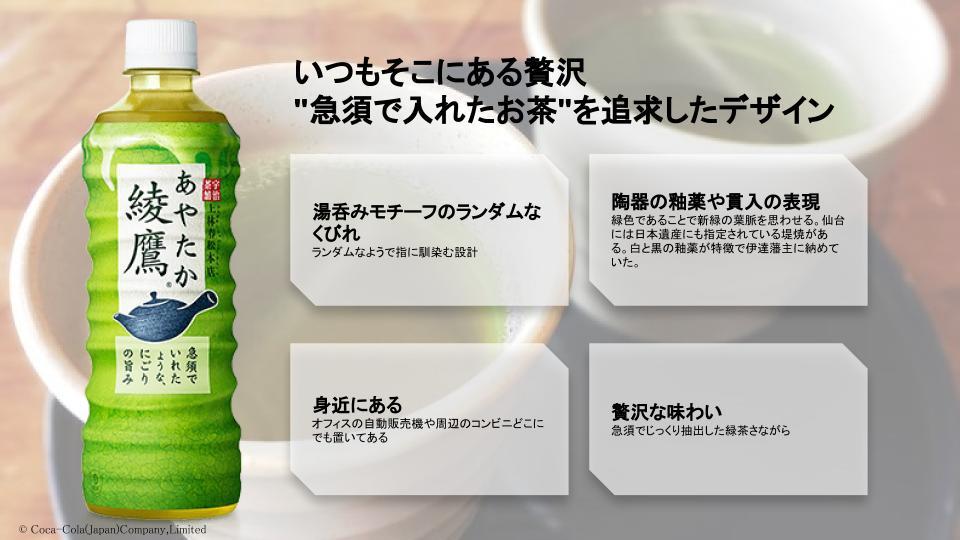 藤田作綾鷹プレゼンスライド
