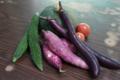 夏下旬の自家製野菜