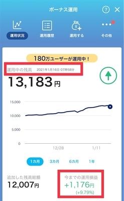 PayPayボーナス運用