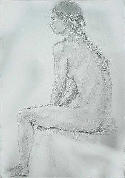 裸婦デッサン - MEMEの日々のことども