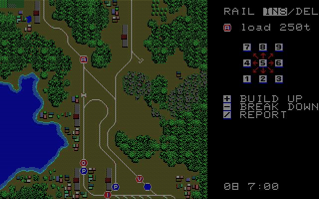 A列車で行こう(初代)の攻略:環状線の例|レトロゲーム攻略