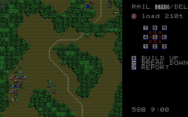 A列車で行こう(初代)の攻略:トンネル|レトロゲーム攻略