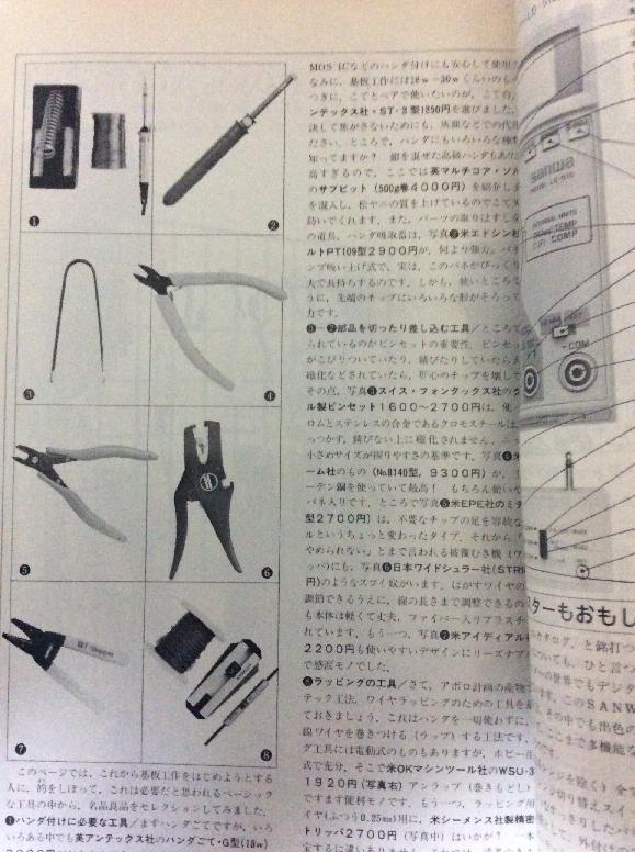 月刊ログイン 創刊号 工具特集