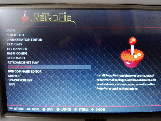 RETROPIE SETTING1