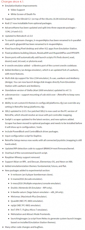RetroPie4.2 Update