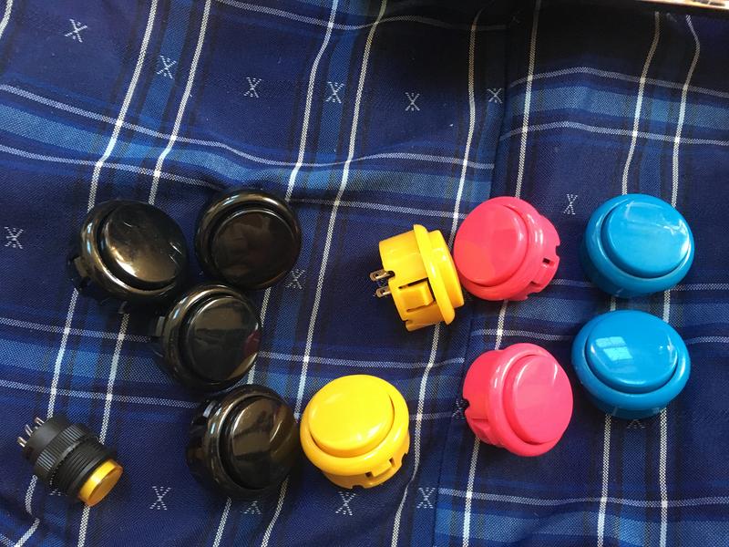 コントローラーのボタン