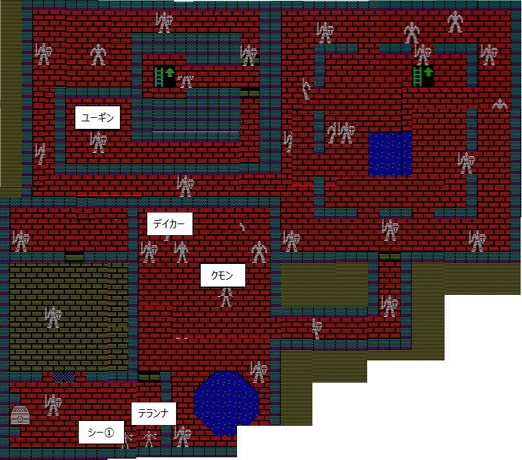 夢幻の心臓Ⅱ:アーケディア城地下1F