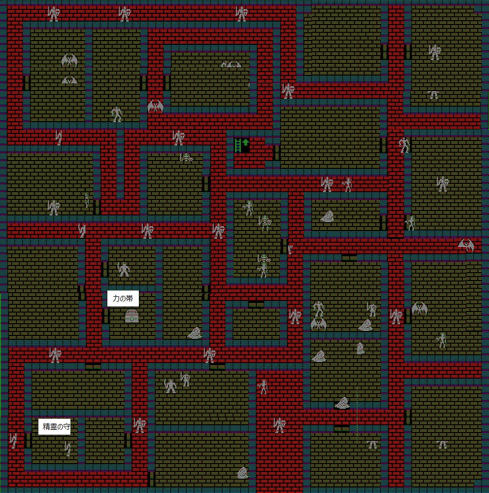 夢幻の心臓Ⅱ:赤き塔1F