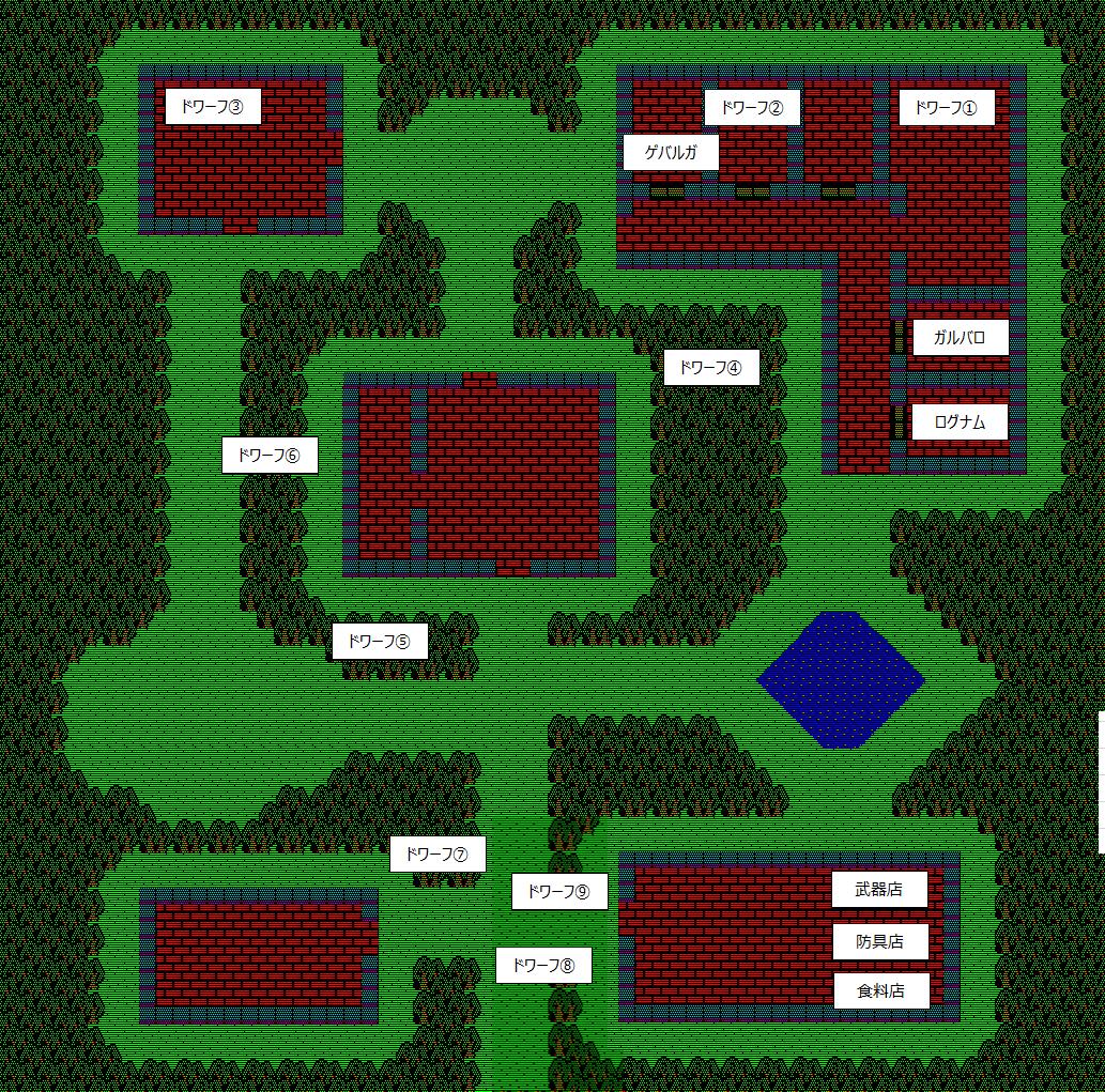 夢幻の心臓Ⅱ:ドワーフの村