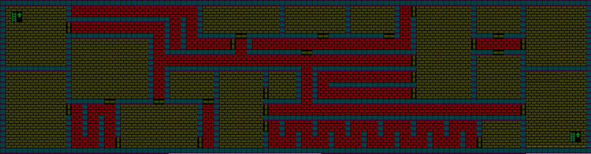 夢幻の心臓Ⅱ:魔法封じの洞窟のマップ