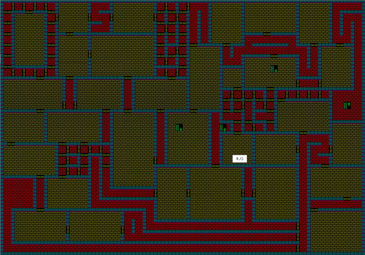 夢幻の心臓Ⅱ:魔法封じの洞窟B5F