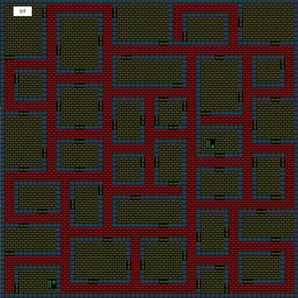 夢幻の心臓Ⅱ:水の塔3Fのマップ