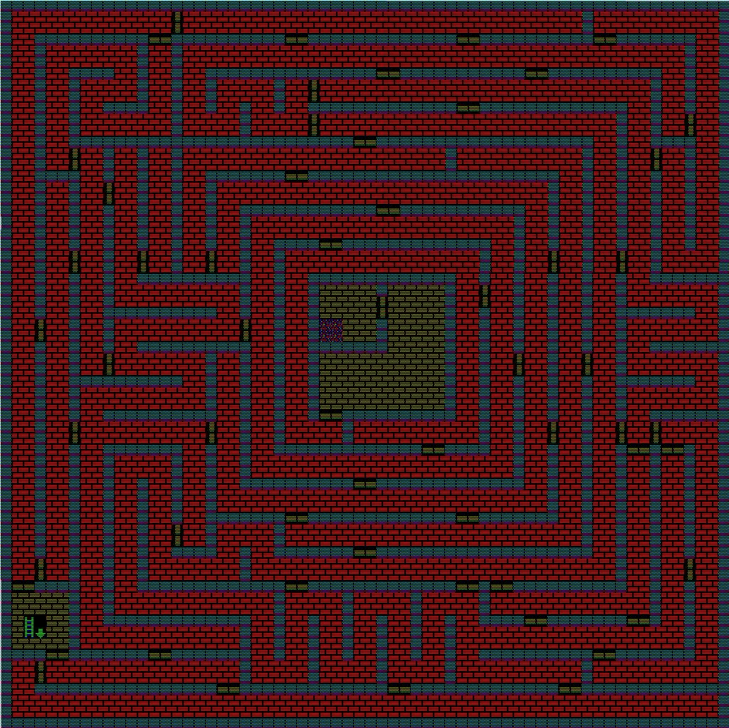 夢幻の心臓Ⅱ:水の塔6Fのマップ