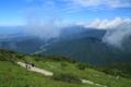 京都新聞写真コンテスト 伊吹山 山頂へ