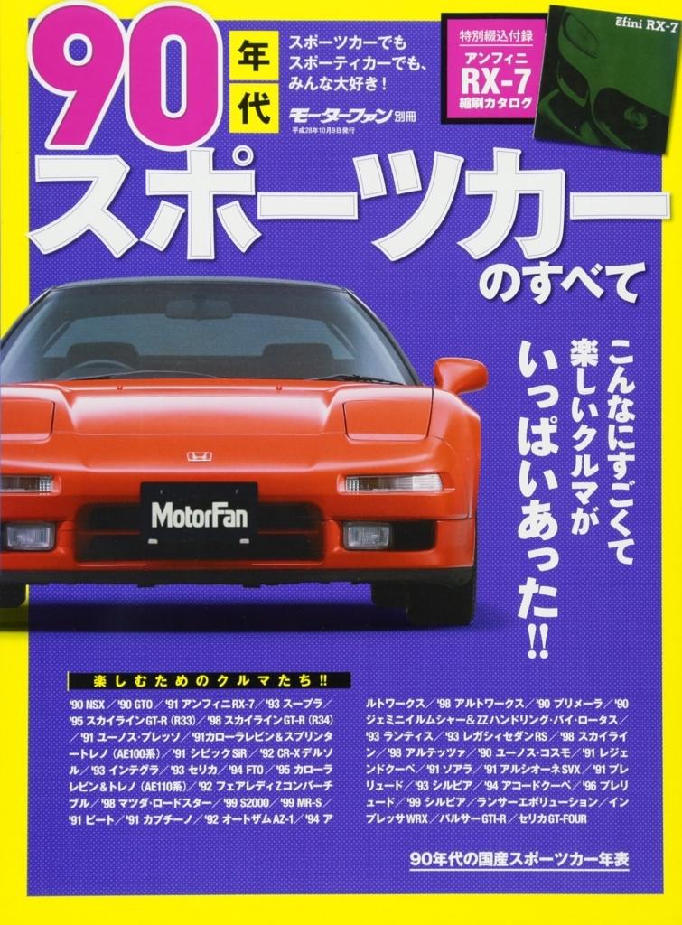 90年代スポーツカーのすべて―最高ニッポン!熱かった90年代のファンカーたち