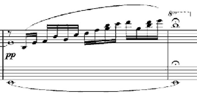 綺麗な楽譜