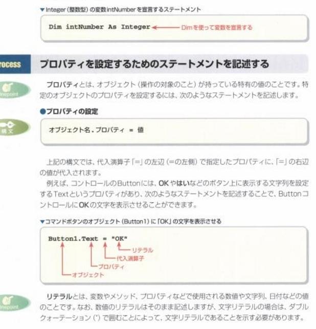 構文や文法の説明