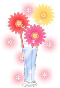 無料イラスト-花