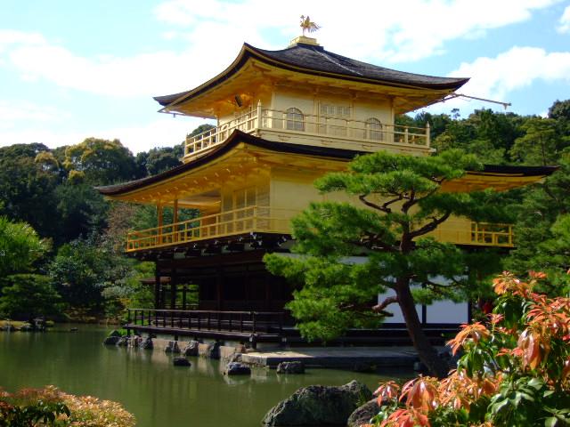 京都・鹿苑寺・金閣