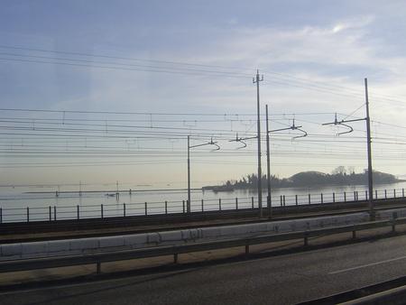 本島へ リベルタ橋 ヴェネツィア