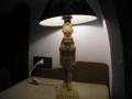 [アブシンベル]ホテル自室のランプ