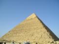 [カイロ]第二ピラミッドだと思う