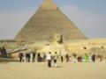 [カイロ]ピラミッドとスフィンクス