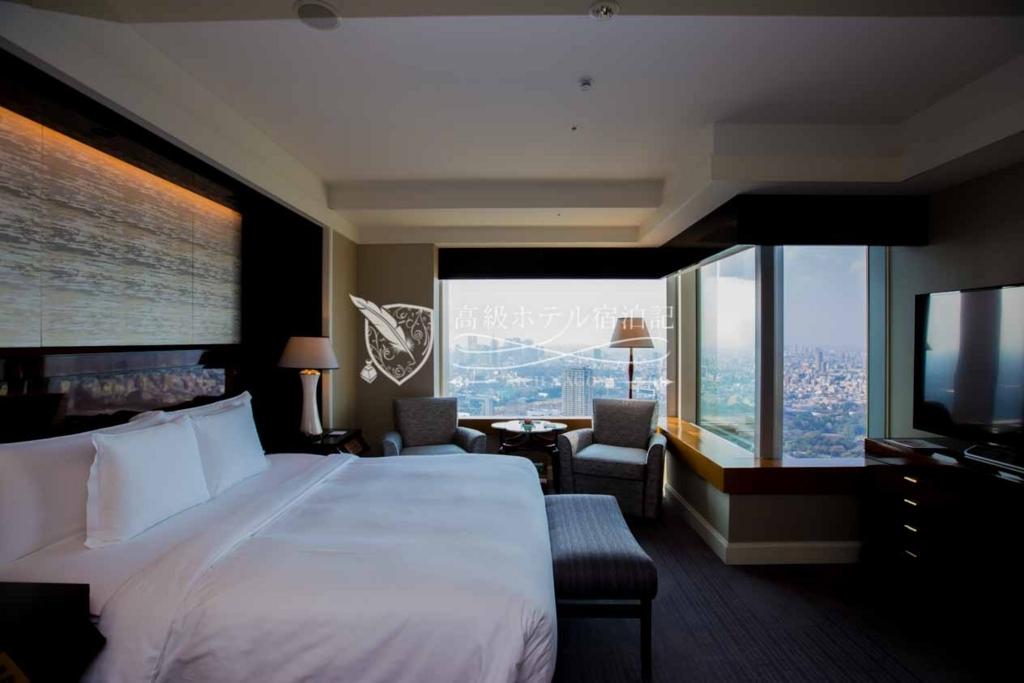 The Ritz-Carlton, Tokyo/Four-Star:Deluxe Room King(52㎡) ザ・リッツ・カールトン東京:デラックスルーム