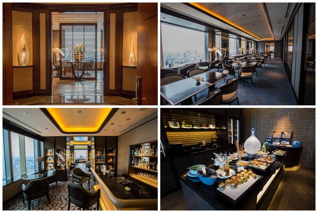 The Ritz-Carlton, Tokyo/Four-Star:Club Lounge at 53th Floor ザ・リッツ・カールトン東京:53階クラブラウンジ